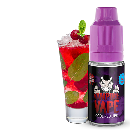 Vampire Vape – Cool Red Lips Liquid 10ml