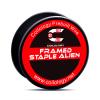Attacke-Pinguin-Alien-Framed-Staple-Alien