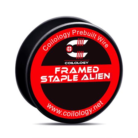 Coilology – Framed Staple Alien Coil