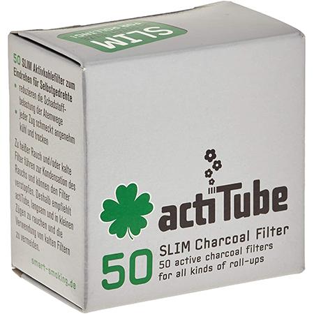 actiTube – Slim Aktivkohlefilter