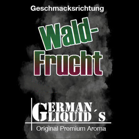German Liquids – Waldfrucht Liquid 10ml