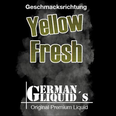 German Liquids – Yellow Fresh Liquid 10ml