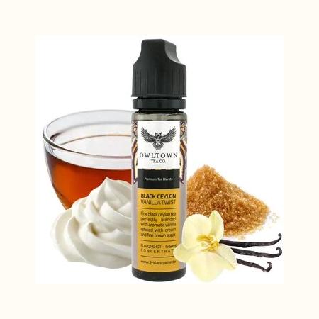 Owltown Tea Co. – Black Ceylon Vanilla Twist Aroma