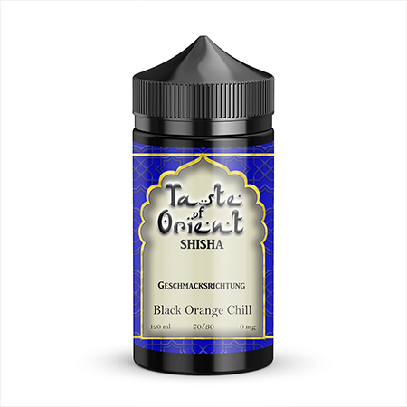 Taste of Orient – Black Orange Chill Liquid 120ml