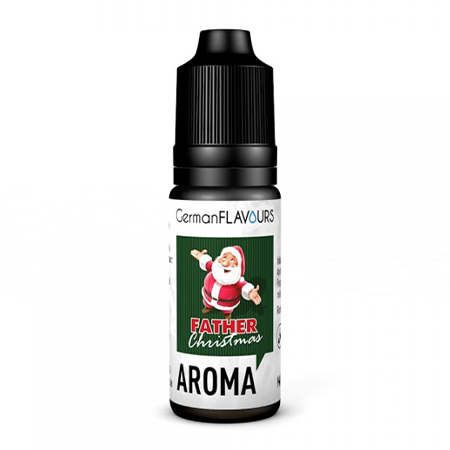 German Flavours – Father Christmas Aroma 10ml (MHD Ware)