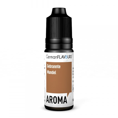 German Flavours – Gebrannte Mandel Aroma 10ml (MHD Ware)