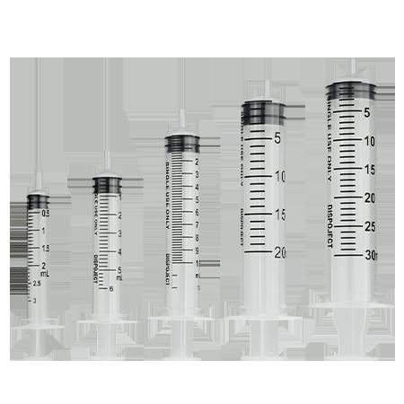 Kunststoff Spritze
