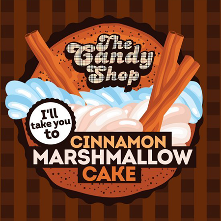 Big Mouth – The Candy Shop Cinnamon Marshmallow Cake Aroma 10ml (MHD Ware)