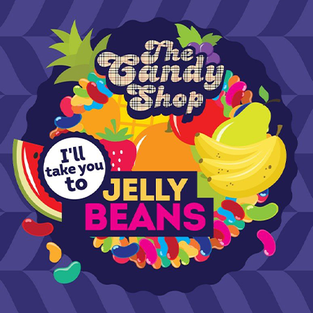 Big Mouth – The Candy Shop Jelly Beans Aroma 10ml (MHD Ware)