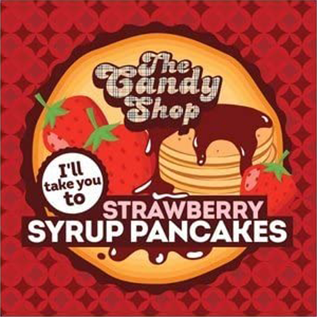 Big Mouth – The Candy Shop Strawberry Syrup Pancakes Aroma 10ml (MHD Ware)