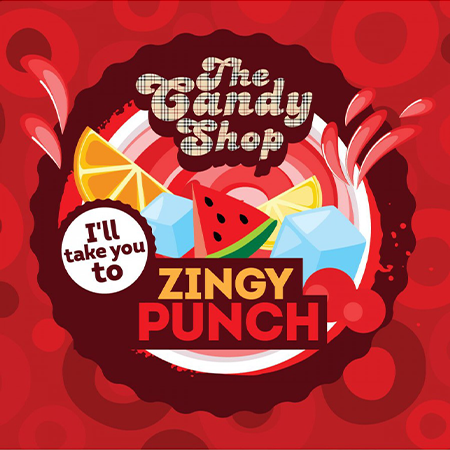 Big Mouth – The Candy Shop Zingy Punch Aroma 10ml (MHD Ware)