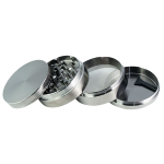 Bullet – Metall Grinder in Silber