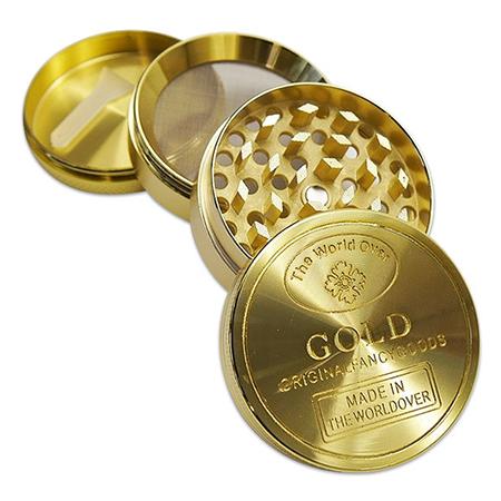 AttackePinguin-Gold-Grinder-Teile