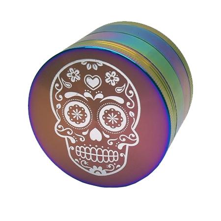 Atomic – Metall Grinder Rainbow Skull