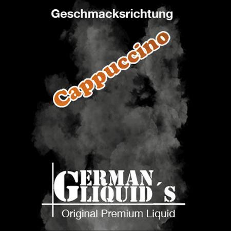 German Liquids – Cappuccino Liquid 10ml