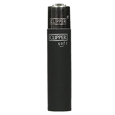 Feuerzeug – Soft Touch Black – Clipper Classic