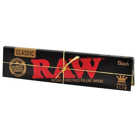RAW – Black KS SLIM Blättchen
