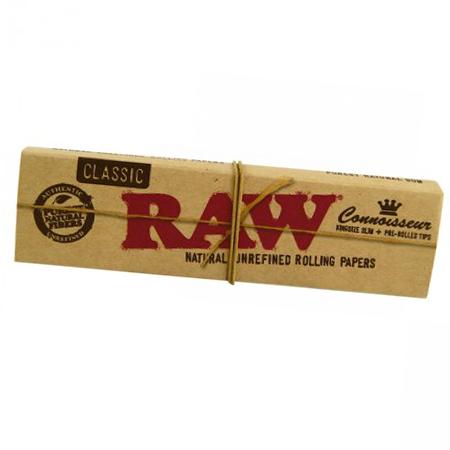 RAW – Classic KS SLIM Blättchen + Tip